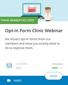 Opt-In Form Clinic Webinar