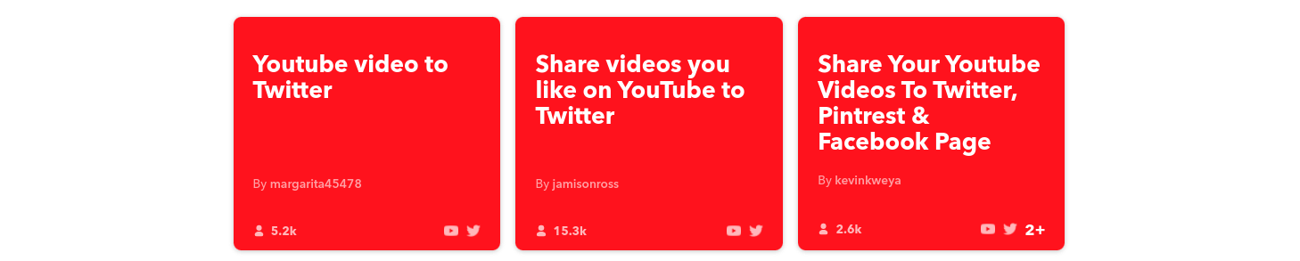 Automate YouTube with IFTTT