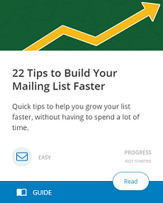 22 Tips to Build Your Mailing List Faster