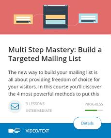 Multi Step Mastery