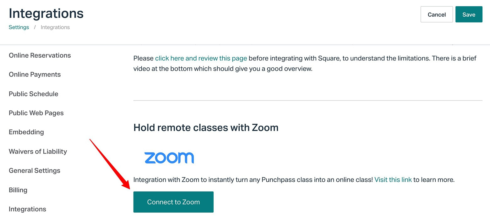 Take your business online using Punchpass's 1-click integration with Zoom