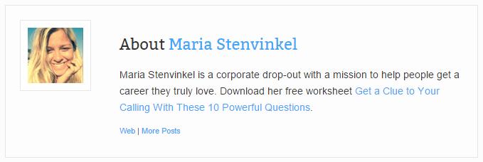 Marie Stenvinkel author box