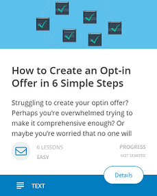 How to Create an Opt-In Offer in 6 Simple Steps