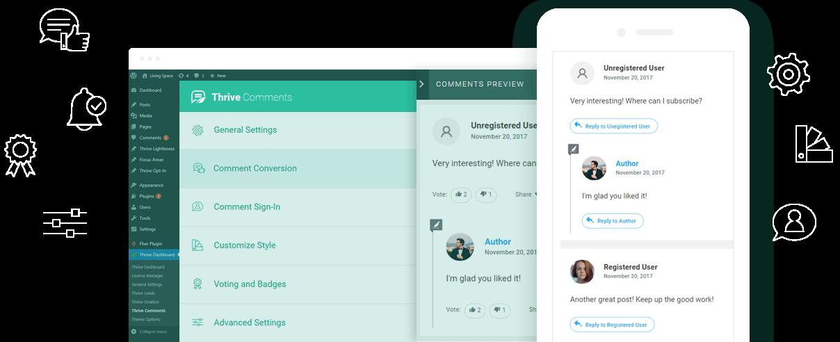 Thrive Comments WordPress Plugin