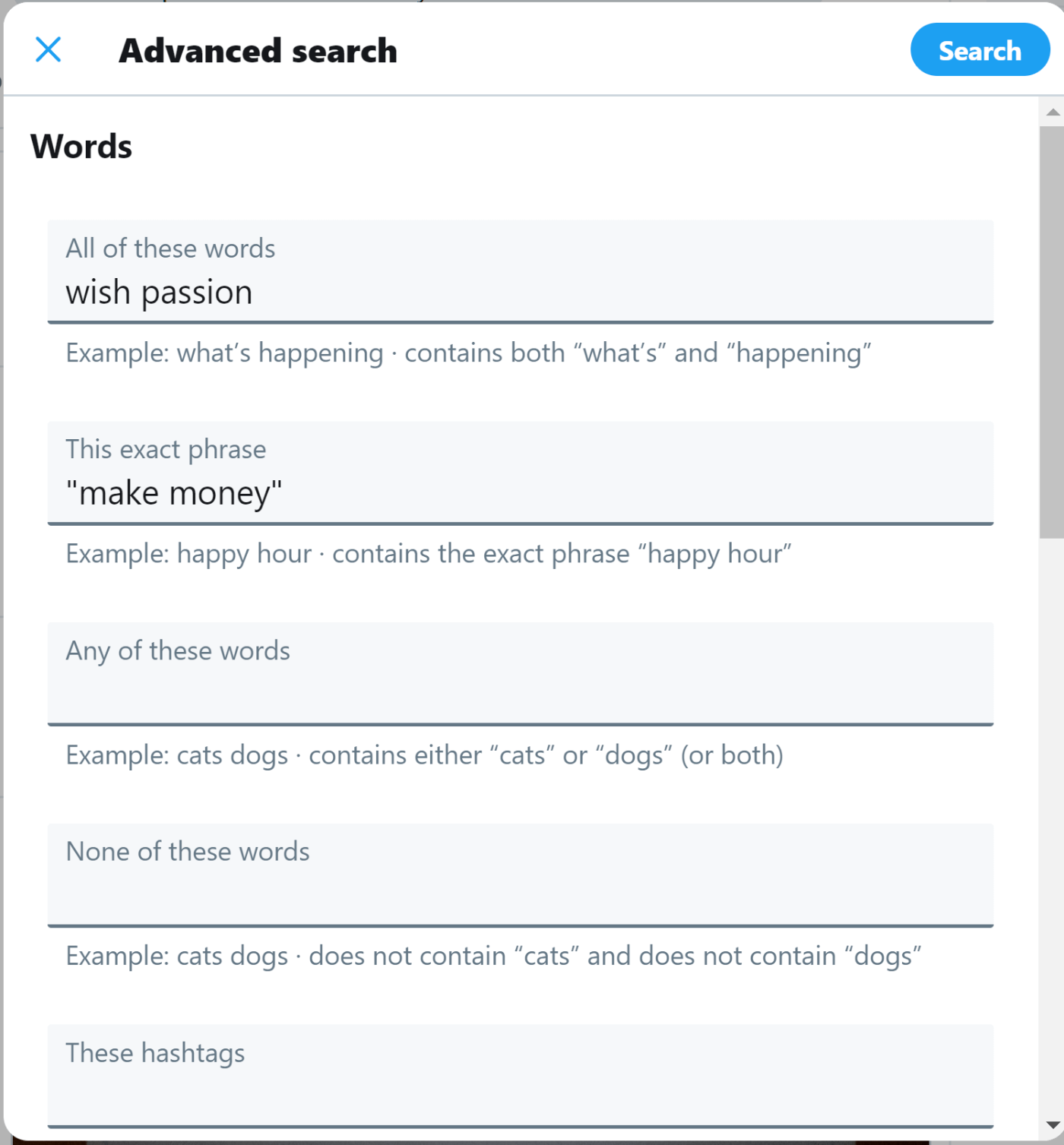 Use twitter's advanced search to find clients.