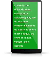 Minimum width on mobile
