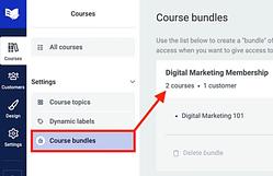 Course Bundles for ThriveCart