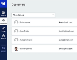 Improvements to Customer List & Access Rights
