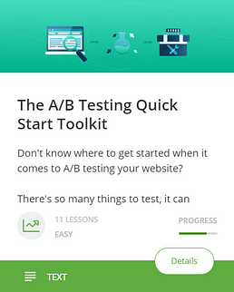 The A/B Testing Quick Start Toolkit