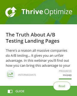 The Truth About A/B Testing Landing Pages
