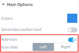 Add icons to your Button elements