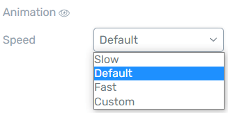 Number Counter - setting the animation speed