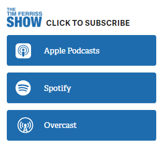 Use your sidebar design to promote your podcast