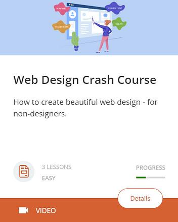 Web Design Crash Course