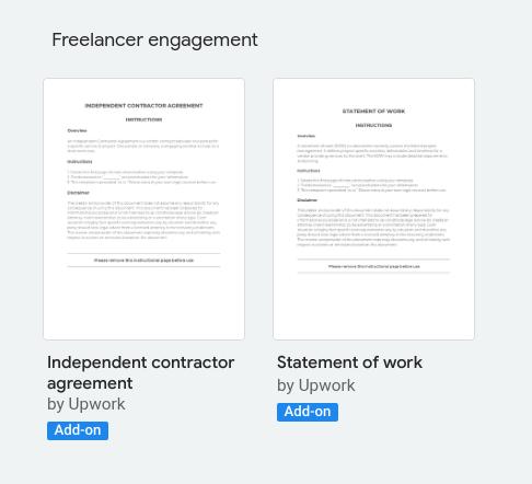 Google docs freelance invoice templates.