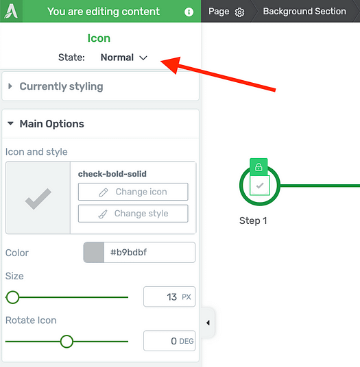 Set the State option to 'Normal' when setting Progress Bar default styles