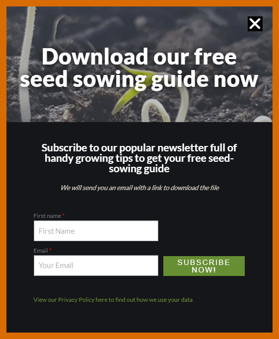 Download our free seed sowing guide - Vital Seeds