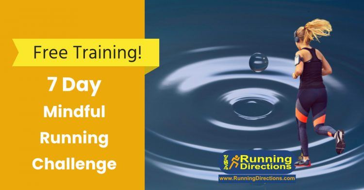 7 Day Mindfull Running Challenge call to action