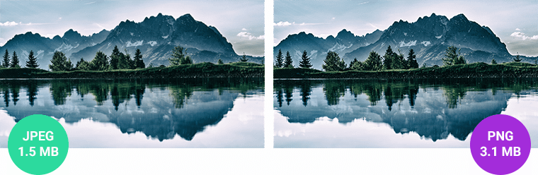 JPEG or PNG landscape