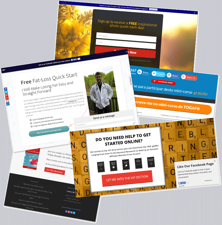 Conversion killer: Landing pages showing too many CTAs