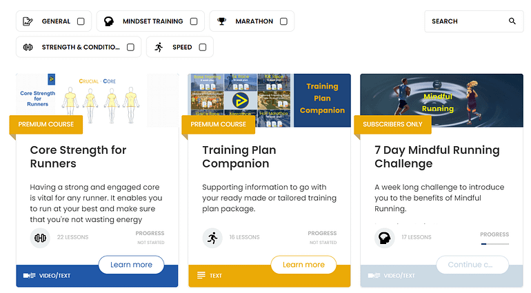 Thrive Apprentice online courses.