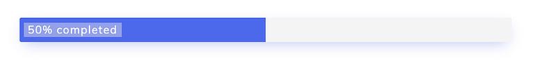 Example of a Simple Progress Bar
