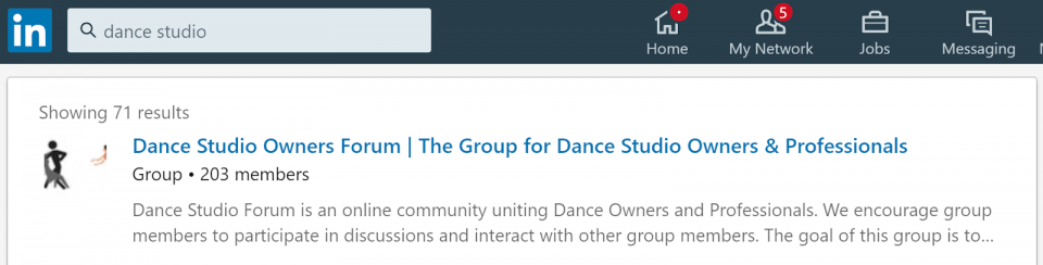 How to use LinkedIn groups to find your niche.
