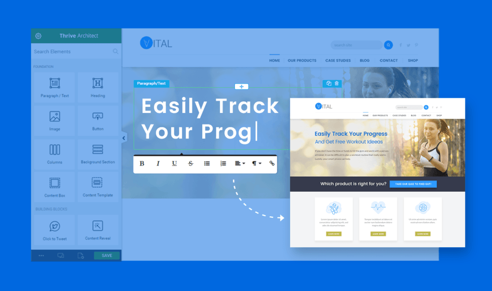 Intuitive and Rapid Page Builder