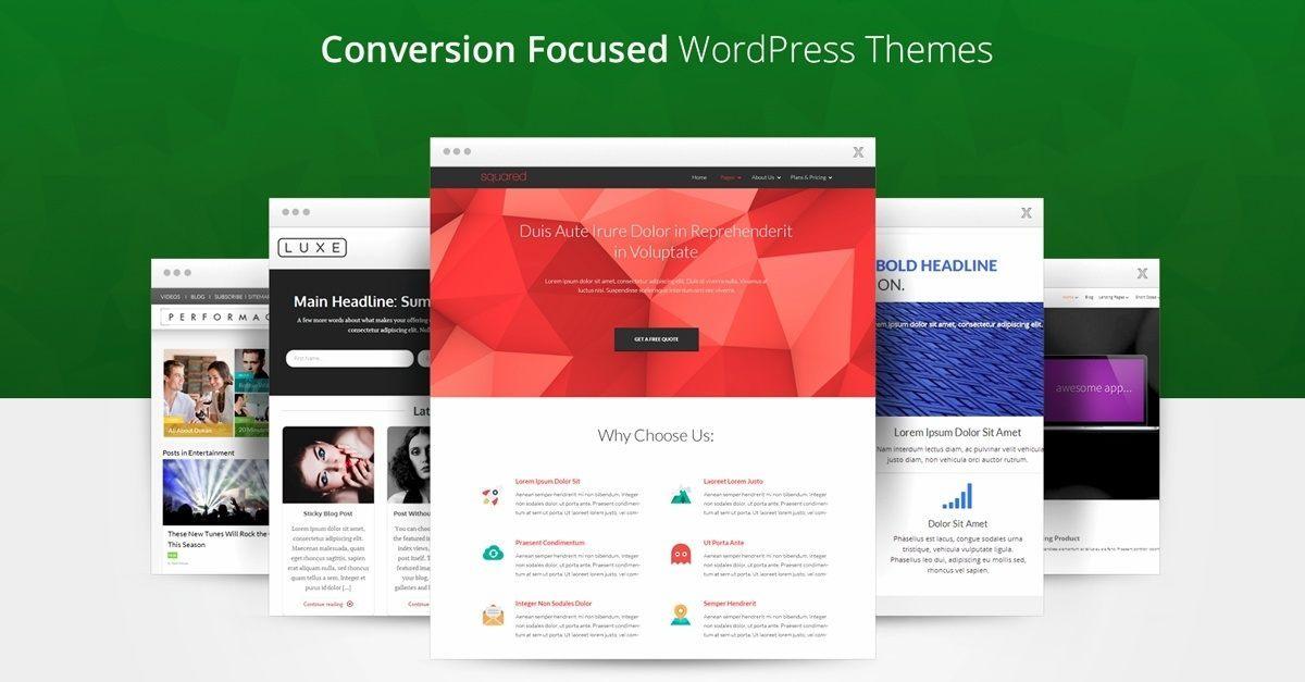 Thrive Themes Black Friday Conversion Focused WordPress Themes