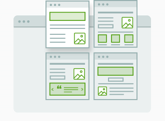 Select from 271 Landing Page Templates