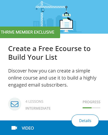 Create a Free Ecourse to Build Your List