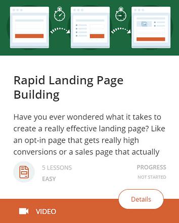 Rapid Landing Page Building