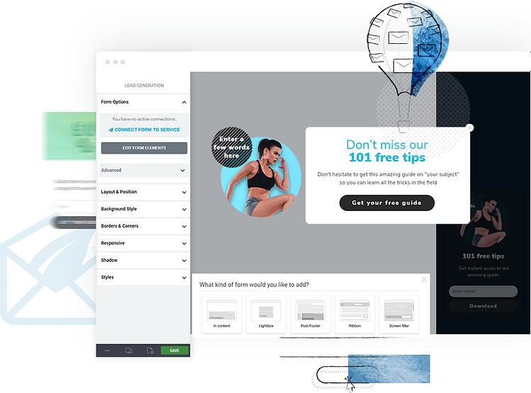 Thrive Leads WordPress affiliate marketing plugin