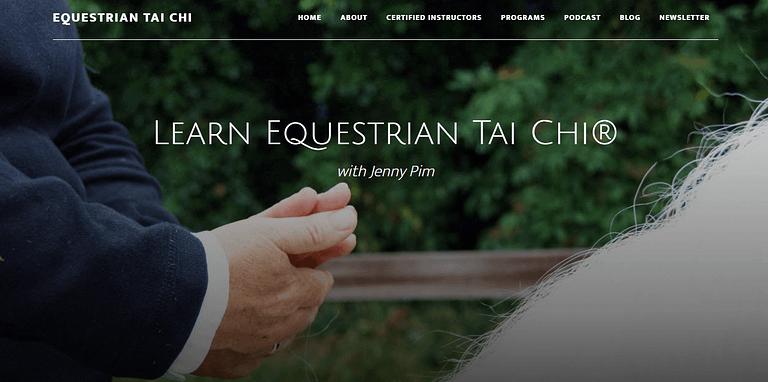 Jenny Pim's Equestrian Tai Chi online course