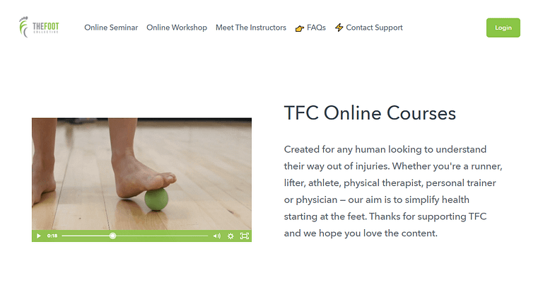 The Foot Collective's online course