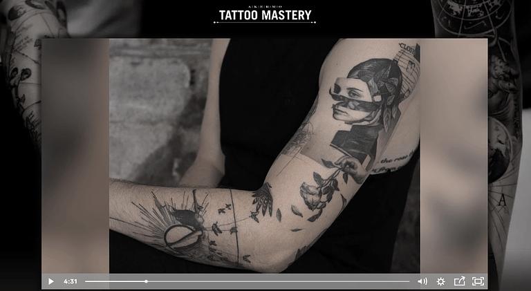 Oscar Akermo's Tattoo Mastery online course