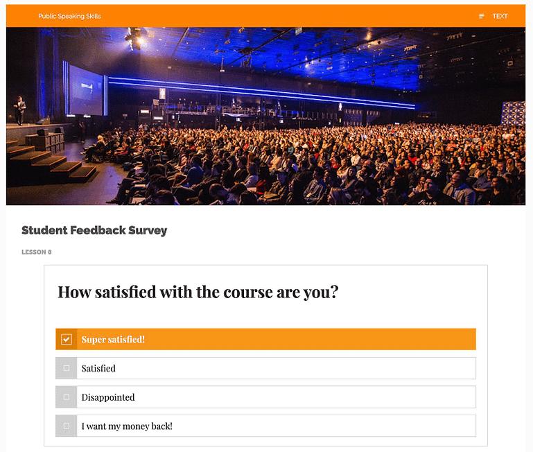 Use Case #4: Student Feedback Surveys