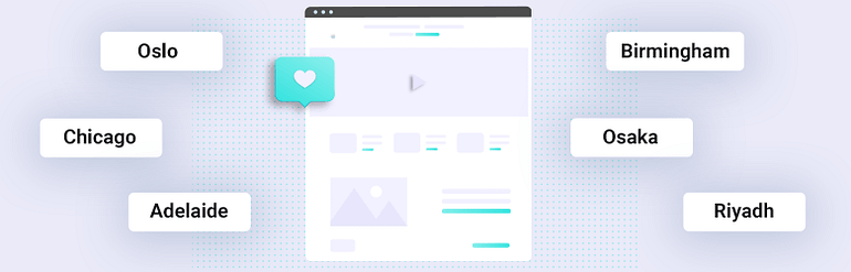 Personalized Landing Pages with Dynamic Locations