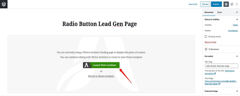 How to create a new Page in WordPress.