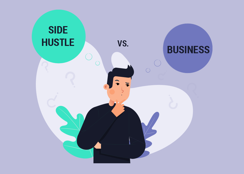 turn freelance side hustle into business