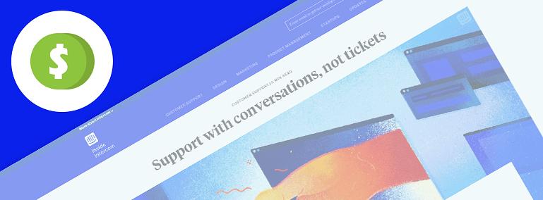 Conversion Content Type on Inside Intercom's Website