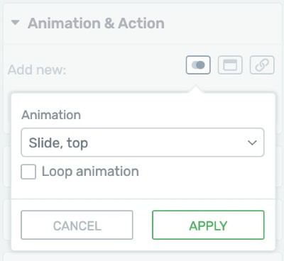 CSS Animation Feature Setup