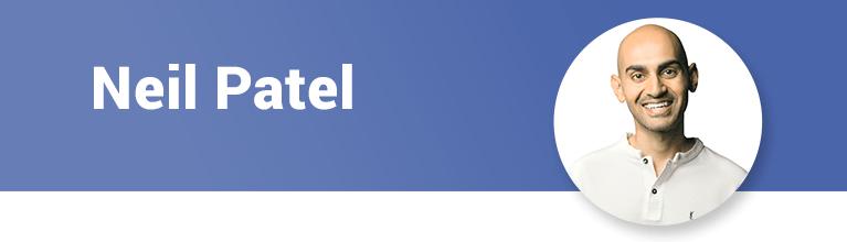 Personal branding logos Neil Patel