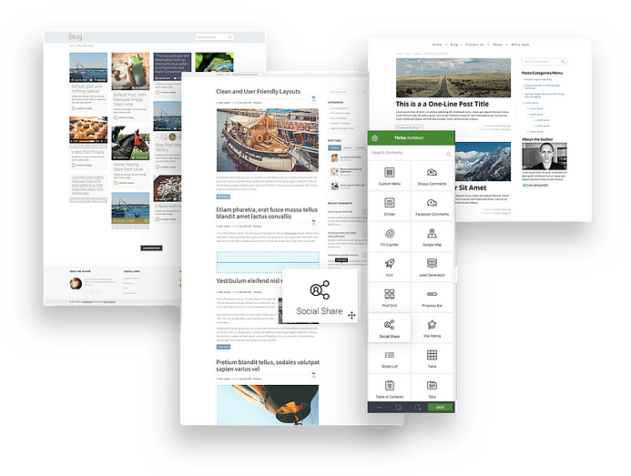 Visual Page Builder para mais tráfego
