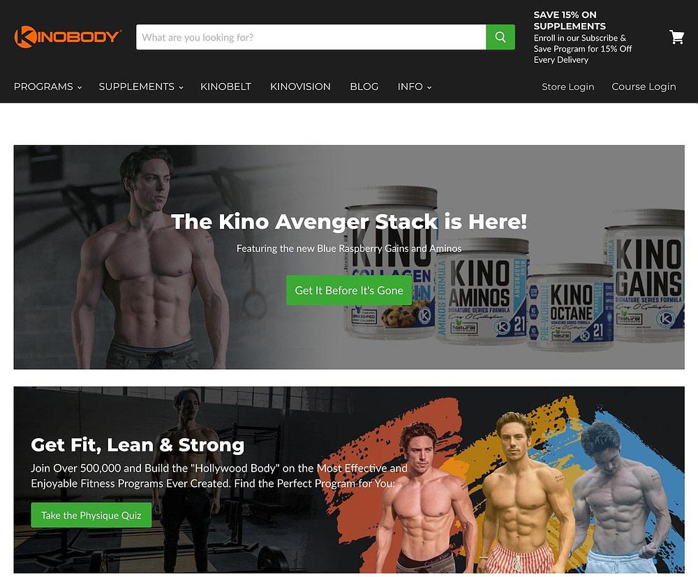 "Greg O'Gallagher's ""KinoBody"" homepage quiz"